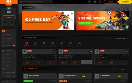 888sport¡El corredor de apuestas deportivas! Screenshot