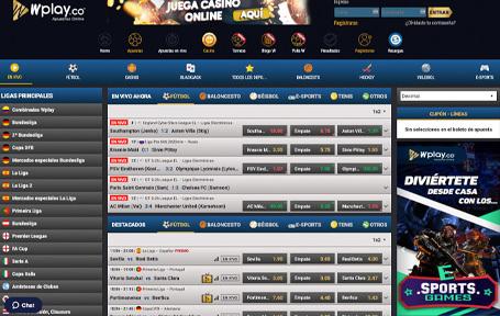 Wplay, portal legal del territorio colombiano! Screenshot